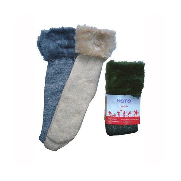 Bas bottes - Chaussettes fourrées chaudes et douces