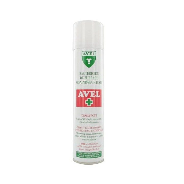 Bactéricide aérosol avel 400 ml