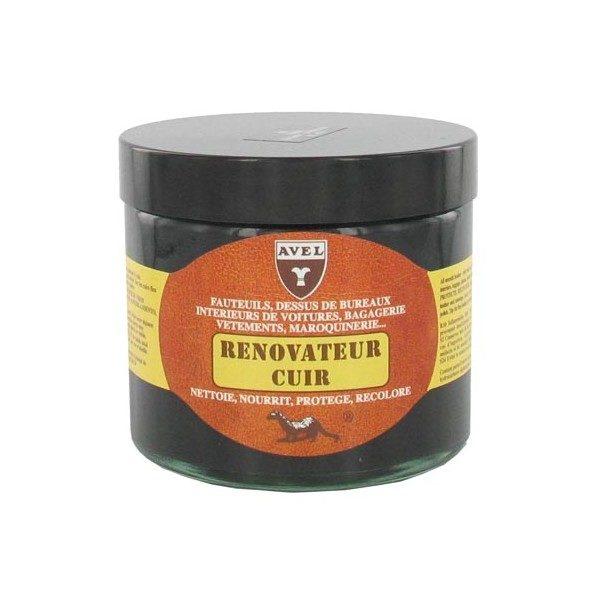 Rénovateur cuir crème 250 ml AVEL pour canapés