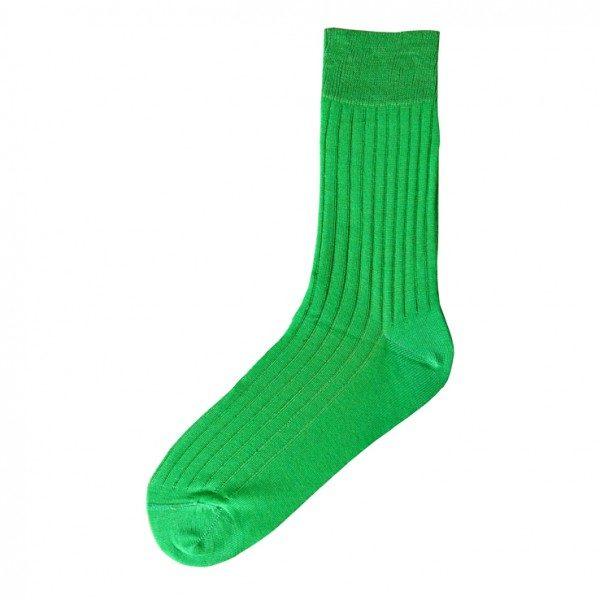 Chaussettes fil d'Ecosse Verte