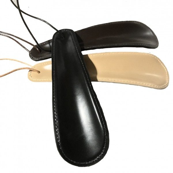 Chausse-pied gainé cuir