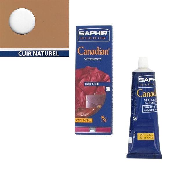 Cirage canadian Saphir 75 ml Cuir naturel