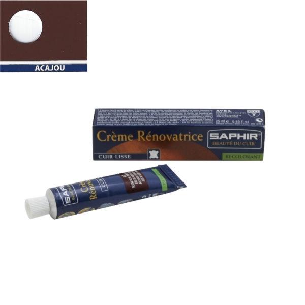 Crème rénovatrice pour les éraflures sur le cuir