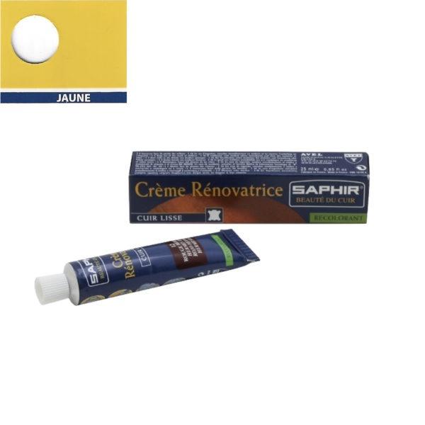 Crème rénovatrice Saphir 25 ml jaune