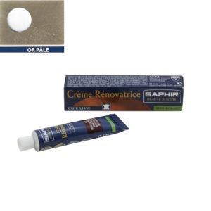 Crème rénovatrice Saphir 25 ml or pâle