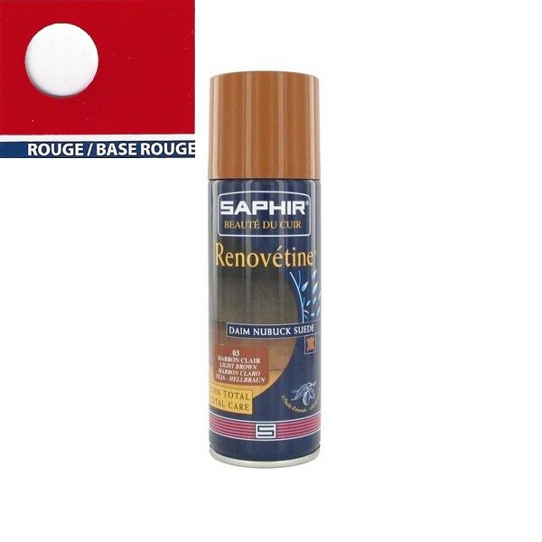 Rénovateur Saphir daim 200 ml Rouge