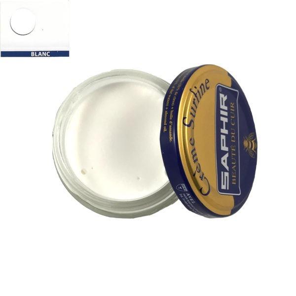 cirage saphir crème surfine blanc