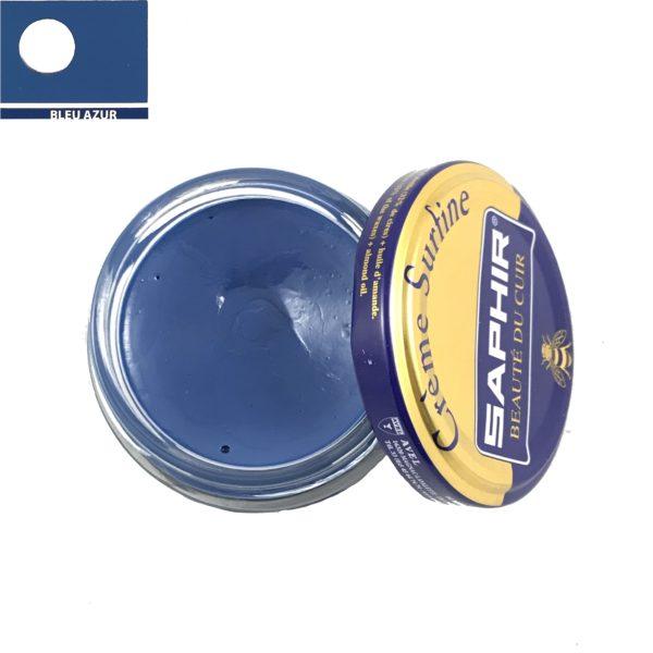 cirage saphir crème surfine bleu azur