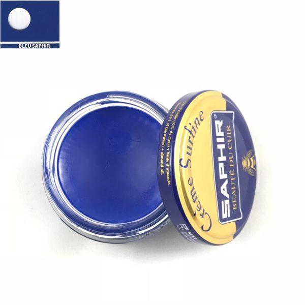 cirage saphir crème surfine bleu saphir