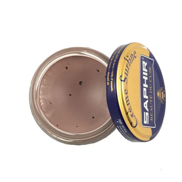 cirage saphir crème surfine brun rose