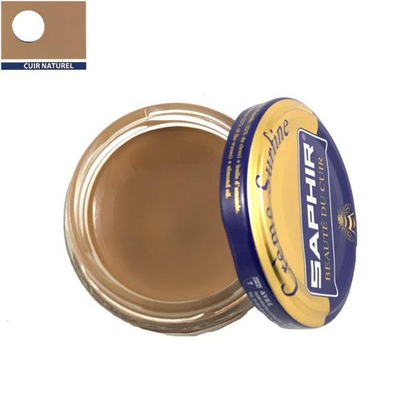 cirage saphir crème surfine cuir naturel