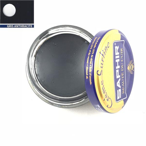 cirage saphir crème surfine gris anthracite