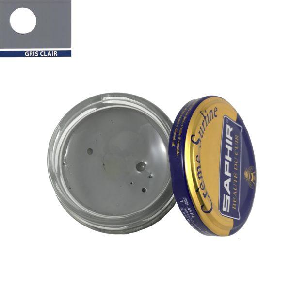 cirage saphir crème surfine gris clair