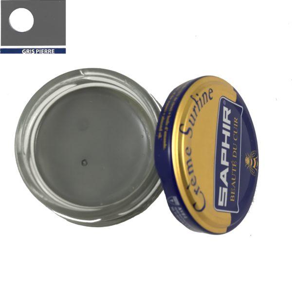 cirage saphir crème surfine gris pierre