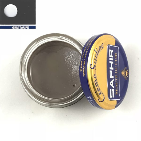 cirage saphir crème surfine gris taupe