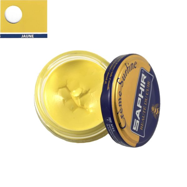 cirage saphir crème surfine jaune