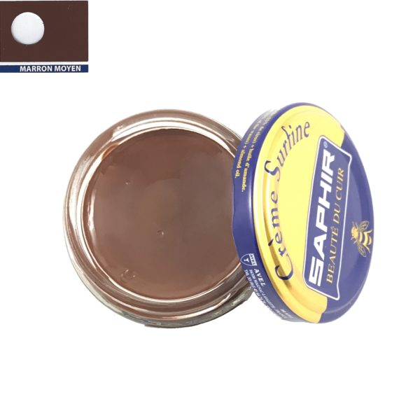 cirage saphir crème surfine marron moyen