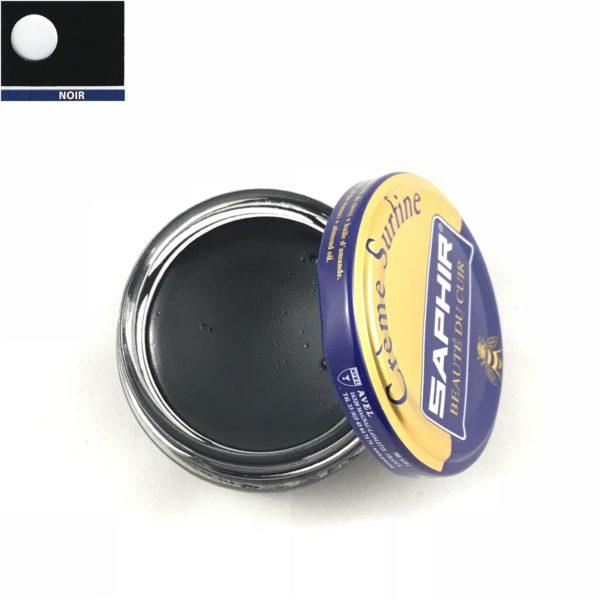 cirage saphir crème surfine noir