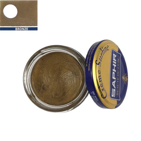 cirage saphir crème surfine or bronze