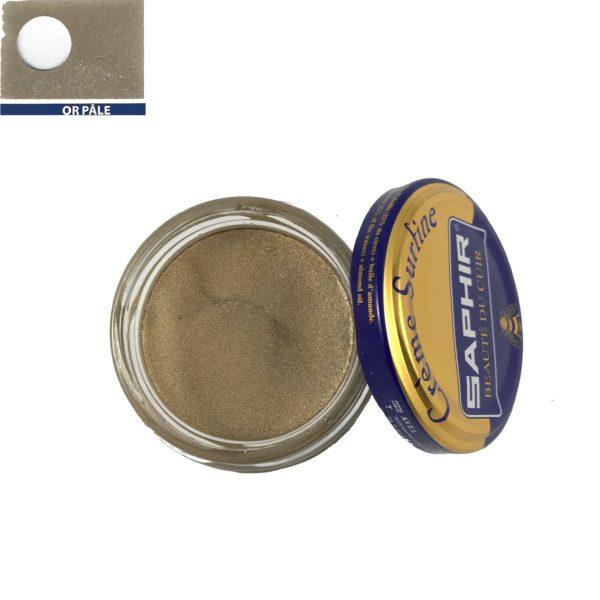 cirage saphir crème surfine or pâle