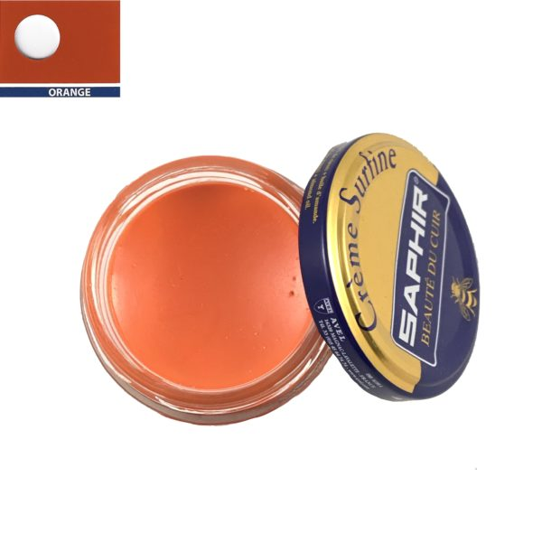 cirage saphir crème surfine orange