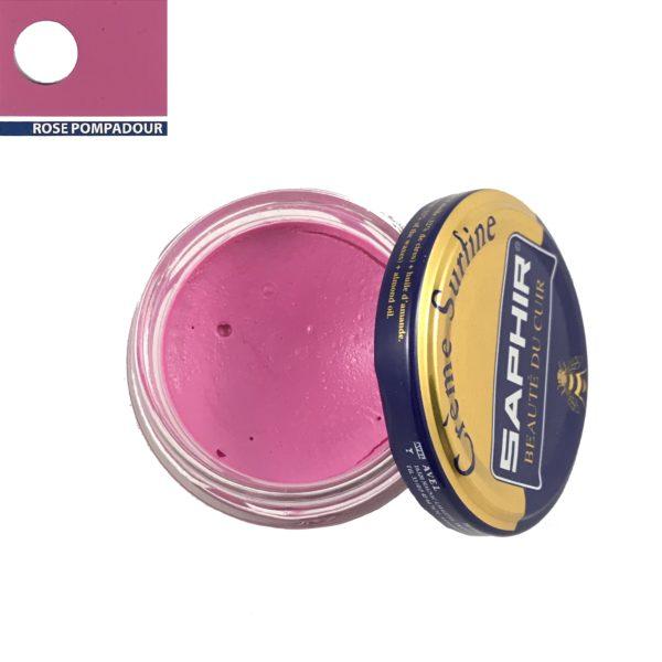 cirage saphir crème surfine rose pompadour