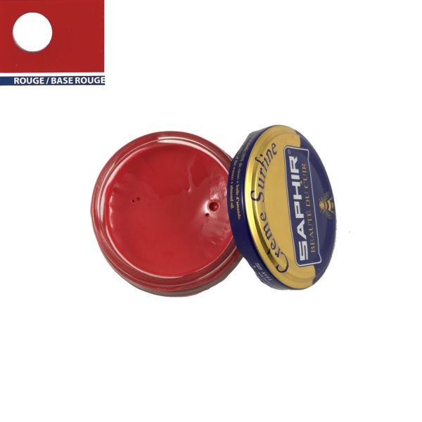 cirage saphir crème surfine rouge