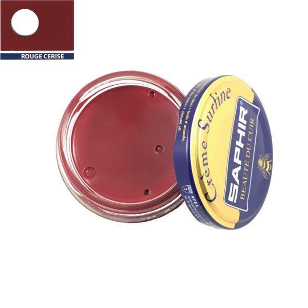 cirage saphir crème surfine rouge cerise