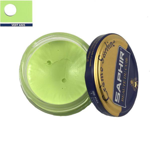 cirage saphir crème surfine vert anis