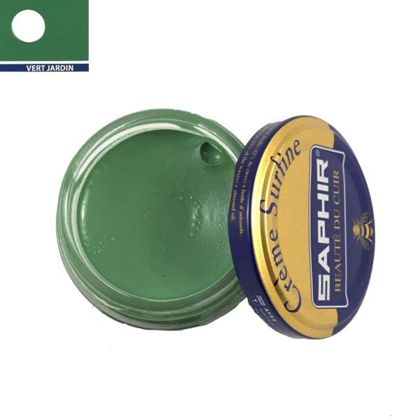 cirage saphir crème surfine vert jardin