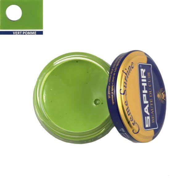 cirage saphir crème surfine vert pomme