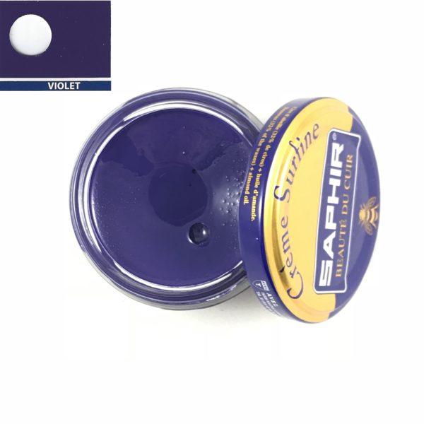 cirage saphir crème surfine violet