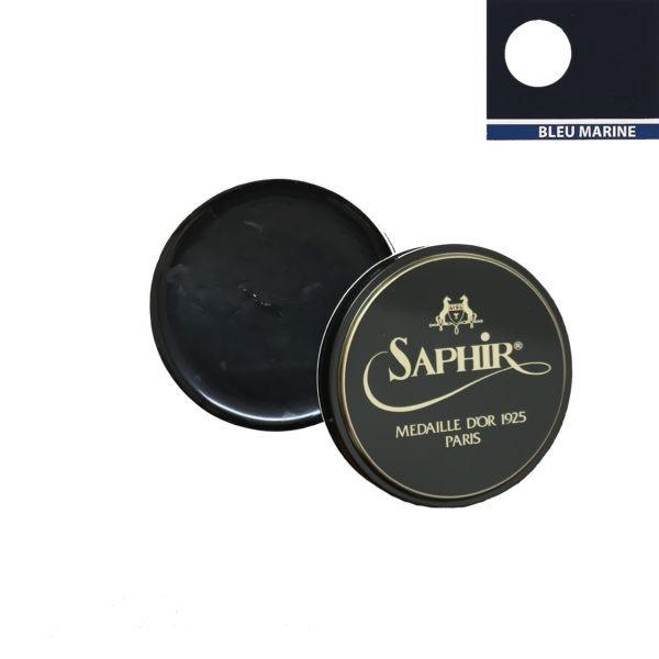 medaille d'or cirage pâte de luxe 100 ml bleu marine