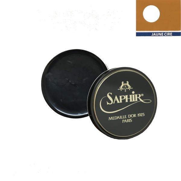 medaille d'or cirage pâte de luxe 100 ml jaune cire