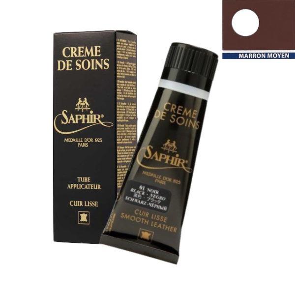 Crème de soins Saphir Médaille d'or marron moyen
